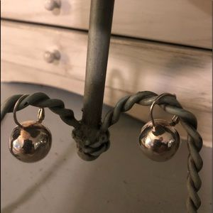 Jewelry - Silver ball earrings